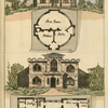 Ground plans: 1. Kitchen, best room and parlor - 2. Hall, Kitchen, pantry, scullery, best room, bed room, dressing room and parlor.