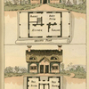 Ground plans: 1. Kitchen, pantry, best room and parlour. - 2. [Duplex with Kitchen and bed room].