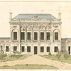 Front view of the house. (Plan in P. XXIX)