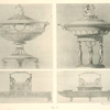[Engraved tureens - Engraved condiment holders?.]