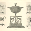 [Empire style engraved glass-holders and deep dishes.]