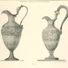 [Empire style wine decanters engraved with mythological figures.]