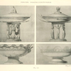 [Empire style Vase Compotier on three figures and dish bowls.]