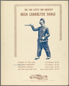 The Irish discovery / words by H.S. Taylor ; music by J.B. Herbert.