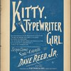 Kitty, the typewriter girl