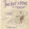 Thou hast a happy heart, I know