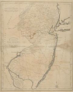 The State of New Jersey, compiled from the most accurate surveys / Martin sculpt.