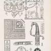 Wanddekoration - Konsole - Deckendekoration - Ehrensäbel aus der Direktoirezeit - Bronzebescgläge.