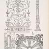 Wanddekoration - Kandelaber - Deckendekoration im Schlosse, Versailles.Wanddekoration - Kandelaber - Deckendekoration im Schlosse, Versailles.