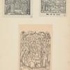 Kartinka s fantasticheskim izobrazheniem Ivana IV, 1588 g.; 1582 g. i iz Tsarstvennoi knigi.