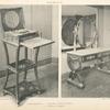 Malmaison: Salle de Bain. 1. Nécessaire de toilette de Joséphine. 2. Coiffeuse de Joséphine.