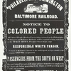 Notice to Colored people.
