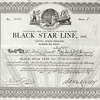 Certificate of Black Star Line stock