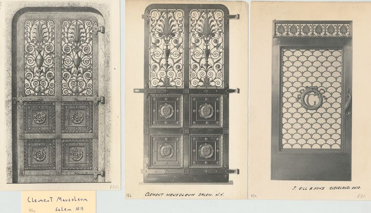 Clement Mausoleum, Salem, N.Y.; J. Gill & Sons, Cleveland, Ohio.