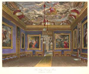 The King's Drawing Room - Windsor Castle.