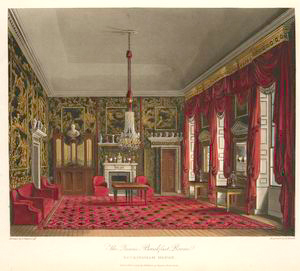 The Queen's Breakfast Room - Buckingham House.