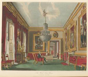 The West Ante Room - Carlton House.