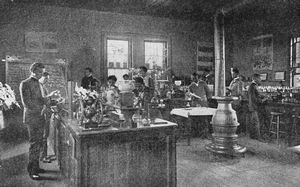 Class in Chemistry, Tuskegee Institute.