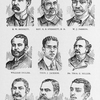 Executive officers of the Negro Department of South Carolina and West Indian Exposition, Charleston, South Carolina, 1901-1902; S.W. Bennett; N.B. Sterrett; W.J. Parker; William Ingliss; Thos. J. Jackson; Thos. E. Miller; J.L. Dart; W.D. Crum; E.A. Lawrence