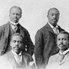Group of Negro educators; Robert H. Bonner; Orishantkeh Fredremas; Chas. H. Boyer; Henry H. Proctor.