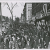 Armistice Day; Lenox Ave., 4 West 134th Street; Harlem, 1919.