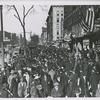 Armistice Day; Lenox Ave., 4 West 134th Street; Harlem, 1919