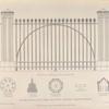 Gate & railing, from Trinity Chapel, Birmingham.