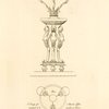 A Design for a branch light, proposed to be executed in silver.