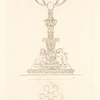 A Branch light designed to be executed in silver for H.R.H. the Duke of Sussex.