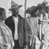 A Kruman and his wives (Cape Palmas)
