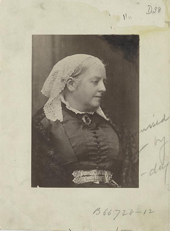 [Queen Victoria (co caption, source, phot.).]