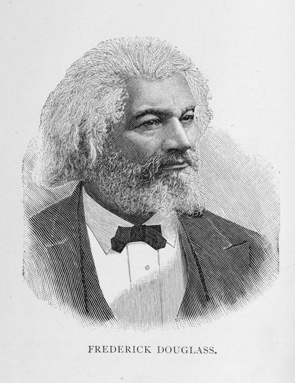 This is What Frederick Douglass Looked Like  in 1887