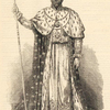 Faustin, Emperior of Hayti, in his coronation robes.