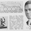A.J. Brookins, inventor; Parts of the Brookins Automatic Train Control System to prevent wrecks.