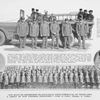 Engine Co. No. 21 was organized Dec. 21st, 1872, at No. 13 Taylor St.; [A group of colored policemen]; Lieutenant William Middleton; Officer Albert C. Blue.