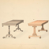 [Occasional tables in the French style.]