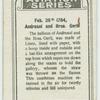 Feb. 26th 1784, Andresani and Bros. Gerli.
