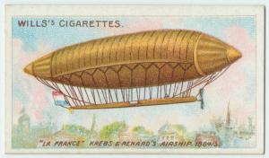 """""""La France"""" Krebs and Renard airship, 1884-85."""