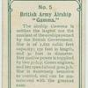 "British army airship ""Gamma""."