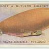 British naval dirigible. Forlanini type.