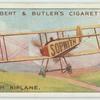 Sopwith biplane.