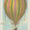 First balloon flight in England, 1784.