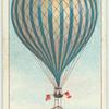 First parachute display, 1837.