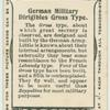 German military dirigibles Gross type.