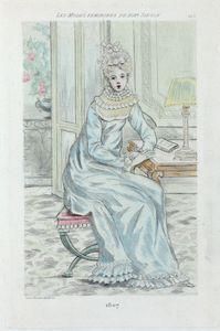 1807 [Women's fashion in nineteenth-century Paris]
