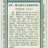 St. Marylebone.