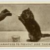 'Guranteed to prevent sore throats.'