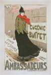 """Affiche pour le Concert des Ambassadeurs, """"Eugénie Buffet""""."""