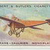 Morane-Saulnier monoplane.