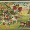 Chinese warriors - Red backs